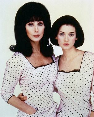 Cher and Winona Ryder