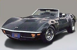Chevrolet Corvette Stringray ZR-1 (black )