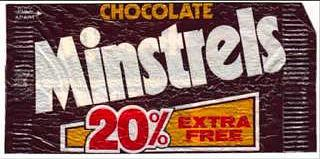 Bag of Chocolate Minstrels