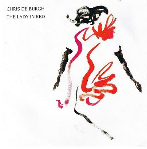 Chris De Burgh - The Lady In Red (single sleeve)