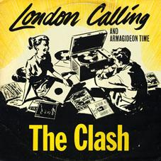 London Calling vinyl sleeve