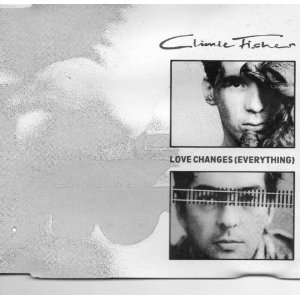 Climie Fisher - Love Changes Everything Vinyl SIngle Sleeve