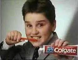 Colgate 80s TV Advert