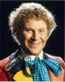 Colin Baker as doctor who in the 80s