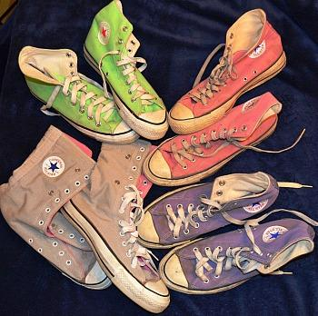 Original 1980s Converse Chuck Taylor All-Star sneakers