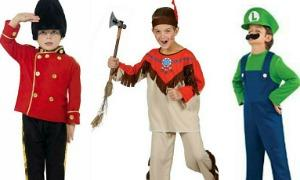Fancy dress costume ideas for boys