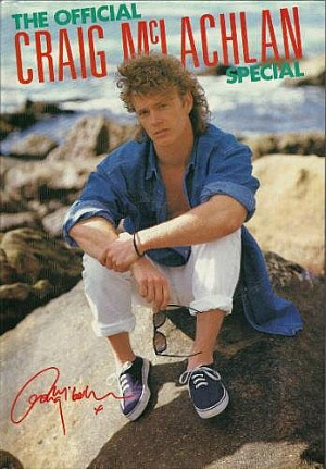 Craig McLachlan photo book
