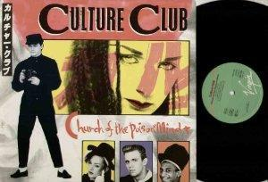 Culture Club - Church of the Poison Mind vinyl sleeve