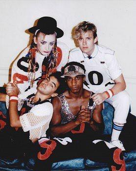 Boy George and Culture Club 1980s
