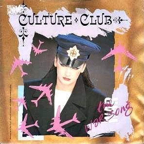 Culture Club - The War Song (Vinyl Single Sleeve)