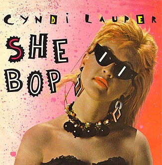 Cyndi Lauper - She Bop (single)