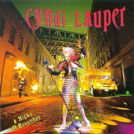 Cyndi Lauper - A Night To Remember (album 1989)