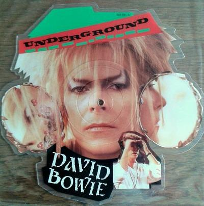 David Bowie - Underground (picture disc) - single from the Labyrinth movie soundtrack