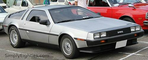 80s Sports Car - DeLorean DMC-12