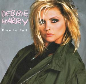 Free To Fall single (1987) - Debbie Harry - from the album Rockbird