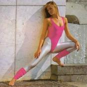 80s Fashion 1983 - Workout Lady