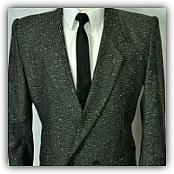 80s Flecked Suits for Men