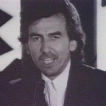 George Harrison in the video