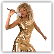 Tina Turner Fancy Dress Costume