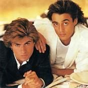 George Michael and Andrew Ridgeley 80s