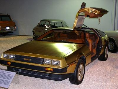 24 carat gold plated DeLorean DMC-12 (1981)
