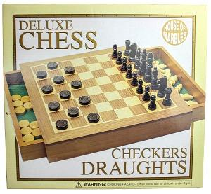 Deluxe Chess and Draughts Set