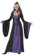 Deluxe Hooded Purple Robe