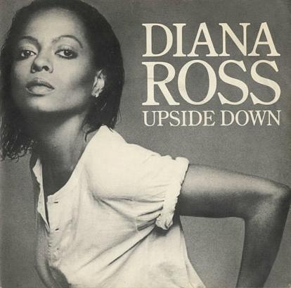 Diana Ross - Upside Down - (1980 UK Motown label 7