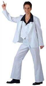White Disco Fever Costume for Men