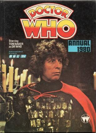 Doctor Who Annual 1980 ft. Tom Baker (fourth Doctor)