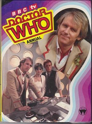 BBC TV Doctor Who Annual 1983 ft. Peter Davison (the fifth Doctor)