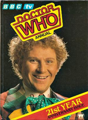 Doctor Who Annual 1985 ft. Colin Baker