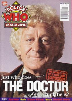 Doctor Who Magazine issue 251 ft. Jon Pertwee
