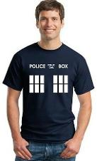 Doctor Who TARDIS Police Box T-shirt