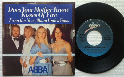 ABBA - Does Your Mother Know / Kisses of Fire 7