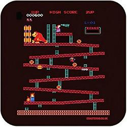 Donkey Kong 80s Video Game Drink Coaster