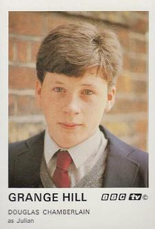 Douglas Chambelain as Julian Fairbrother in Grange Hill 1985
