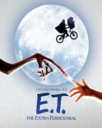 E.T. blu-ray and DVD
