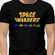 Space Invaders T-shirts