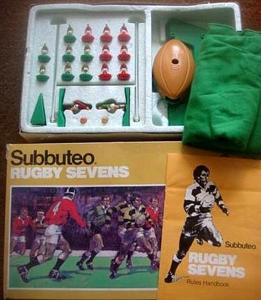 Subbuteo Rugby Sevens Game (1970s)