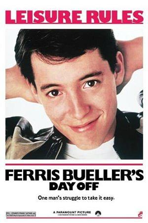 Ferris Bueller's Day Off - Leisure Rules Poster