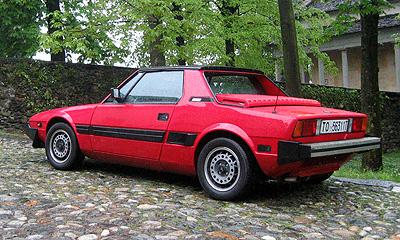 Fiat X Red