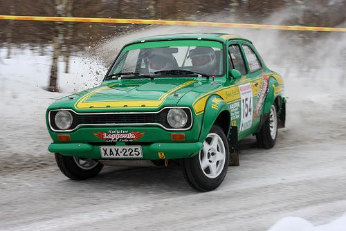 Ford Escort Mk1 Rally Car
