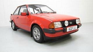 Ford Escort XR3 (mk III) - non injection