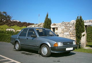 1984 Ford Orion in grey
