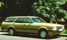 80s Cars - Ford Cortina MarK V estate