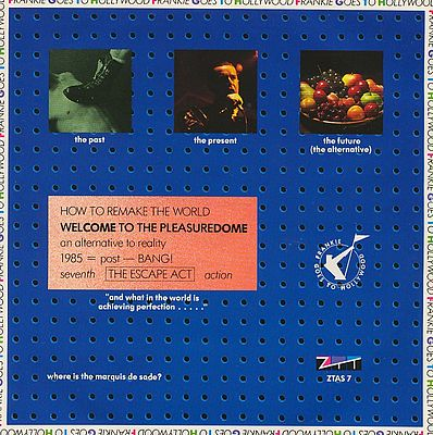 Welcome To The Pleasuredome 7 inch single sleeve