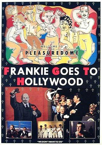 Frankie Goes To Hollywood 80s Poster