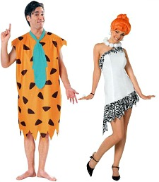 Fred and Wilma Flinstone Costumes