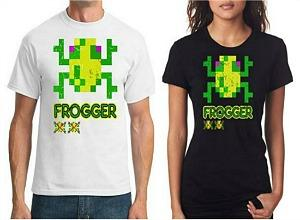 Frogger T-shirts for Men and Women